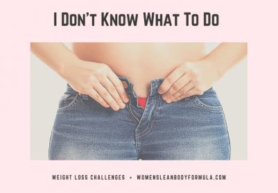 I Want To Lose Weight But Don't Now Where To Start