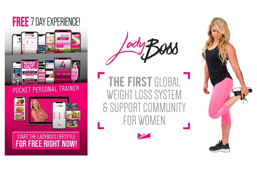 LadyBoss 7 Day Free Experience Digital Campaign