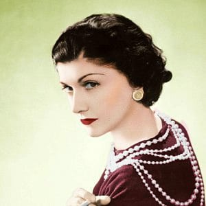 Coco Chanel, French fashion designer and businesswoman