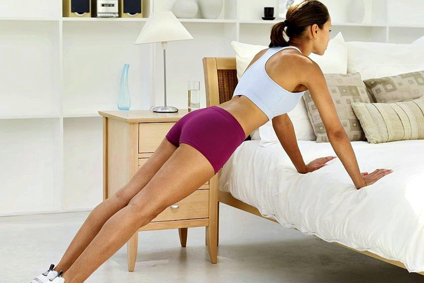 Do Bed Pushups