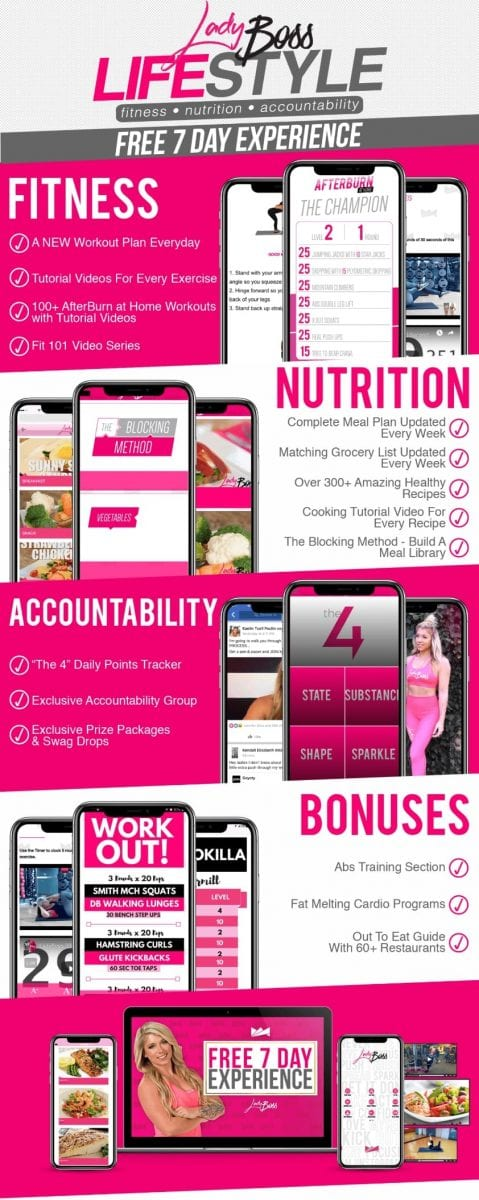 LadyBoss Weight Loss Pocket Personal Trainer App